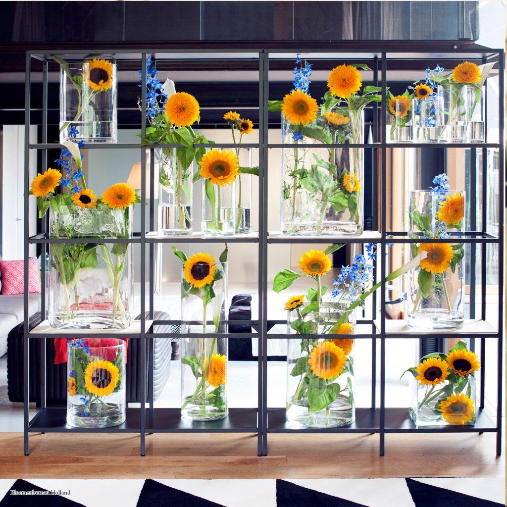 Sunflower wall; Bloemenbureau Holland