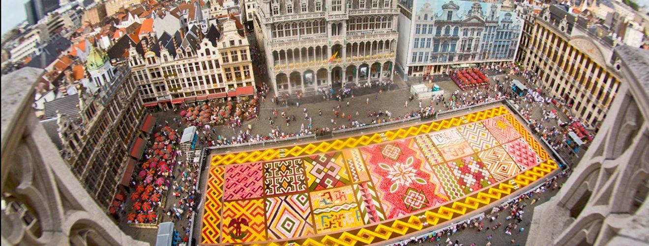 Flower carpet Brussels
