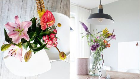 Must follow instagrammers who love to use flowers in their interior.