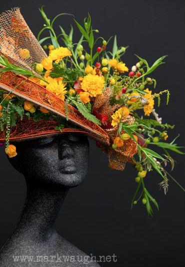 Summery flower hat