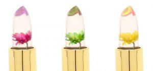 Winky Lux flower lipstick