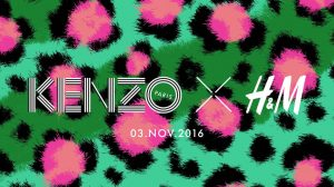 Kenzo x H&M designer collection