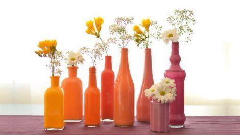 DIY upcysling form waste to vase