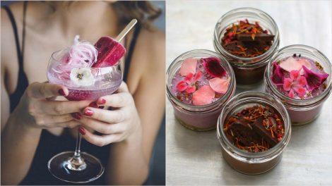 Instagram flower foodies