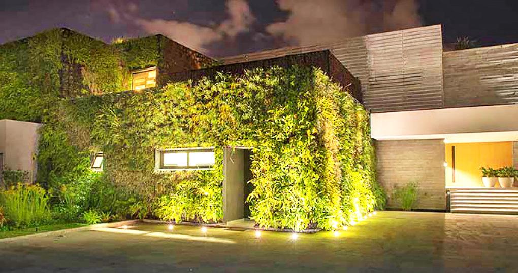 green seaside home mexico Ezequiel Farca Architects