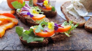 Edible flowers are healthy