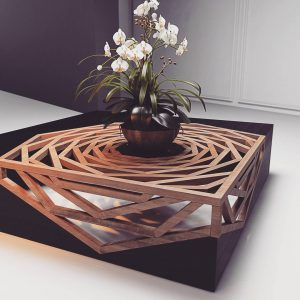 Coffee table by Timur Subberjean