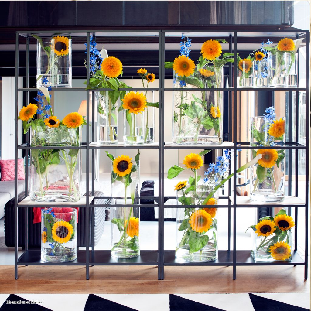 Sunflower wall; Bloemenbureau Holland
