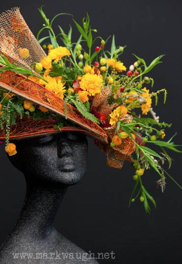 Summery flower hat