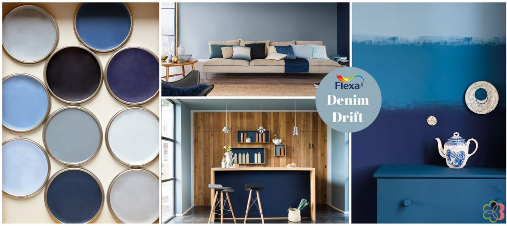 Flexa ColourFutures 2017 Denim Drift