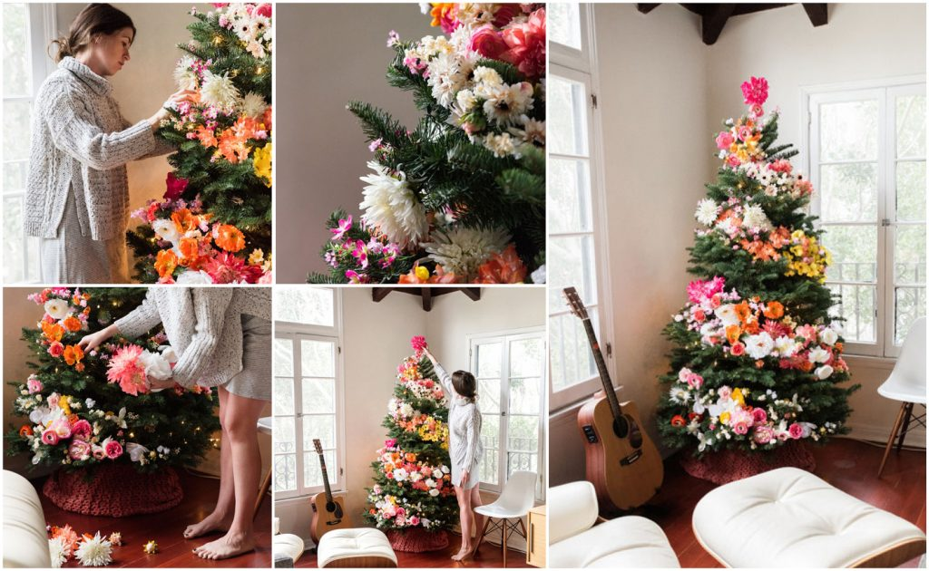 DIY Christmas tree by designlovefest