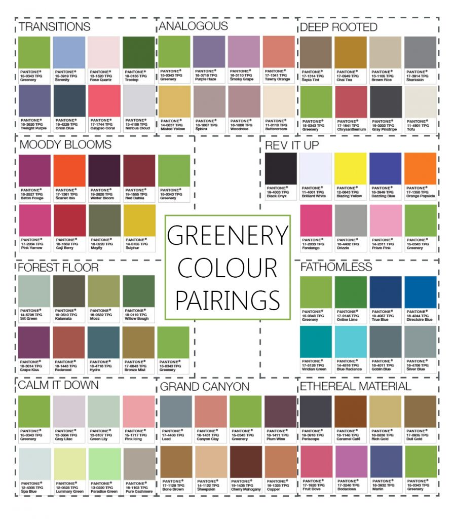 greenery-colour-pairings