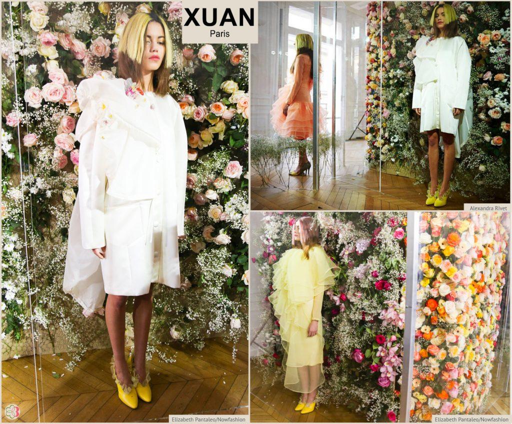 Paris Fashion Week spring/summer 2017 Xuan Paris