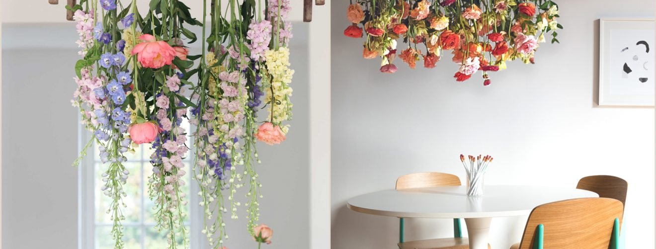 Raining Flowers Above Your Dining Table Bloomifique