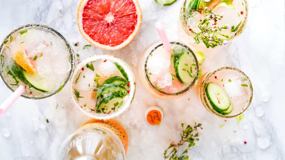 floral cocktail recipes