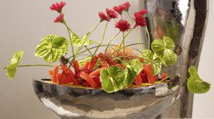 DIY: Freakebana-styling met anthurium bloemen