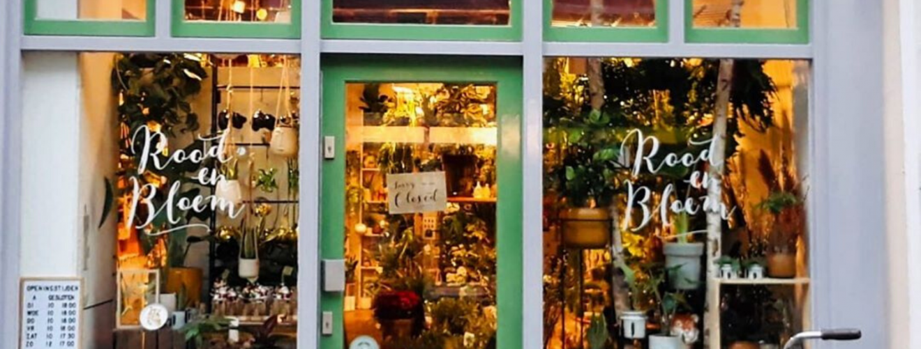 The nicest urban plant shops in Utrecht